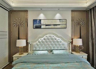 60平米一居室美式风格卧室图