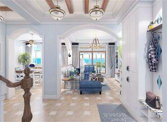 140平米四室三厅地中海风格楼梯间欣赏图