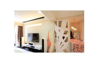 100平米一居室田园风格客厅装修图片大全