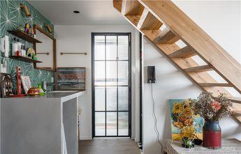 60平米复式混搭风格楼梯间图