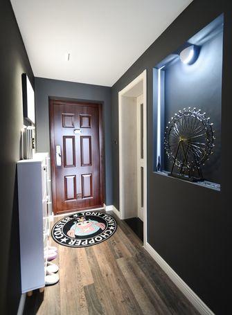 80平米三室两厅混搭风格玄关效果图