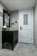 140平米三室两厅欧式风格卫生间图