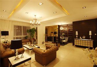 120平米三室两厅新古典风格客厅装修图片大全