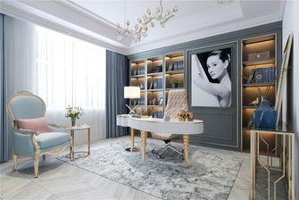 140平米复式法式风格书房装修案例