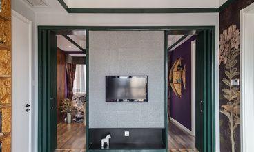120平米三室一厅混搭风格玄关设计图