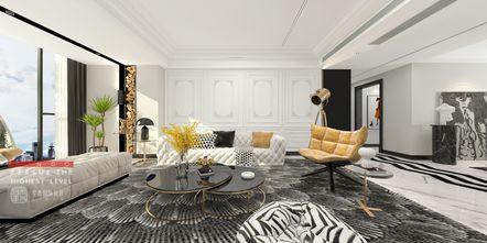 豪华型140平米别墅法式风格客厅装修图片大全