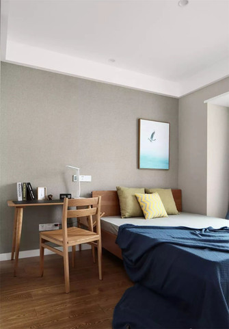 120平米三室两厅现代简约风格卧室装修案例
