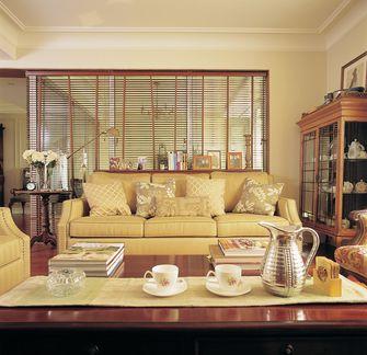 80平米三室三厅美式风格客厅图片