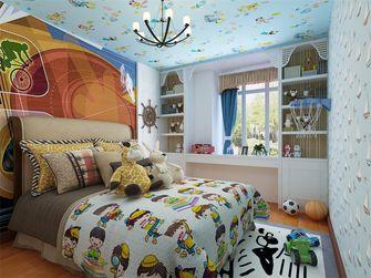130平米三室两厅地中海风格儿童房图片大全