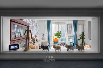 120平米美式风格客厅装修图片大全