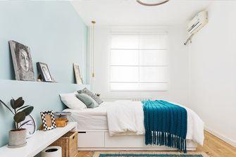 70平米北欧风格卧室装修图片大全