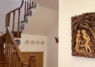 140平米别墅混搭风格楼梯间图