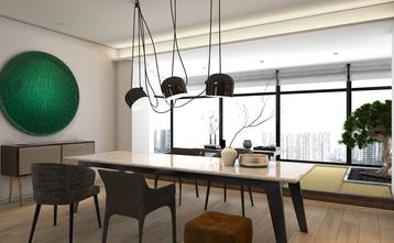 100平米三室一厅现代简约风格书房装修案例
