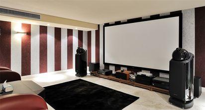 140平米别墅欧式风格影音室效果图
