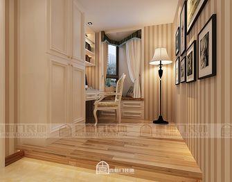 80平米三室两厅美式风格玄关图