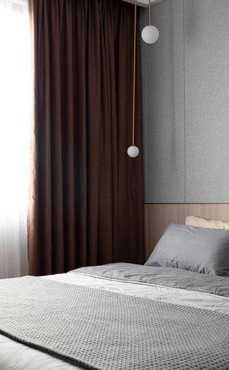 80平米三现代简约风格卧室装修案例