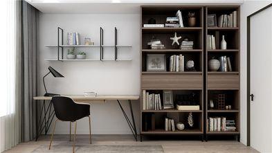 110平米三室两厅混搭风格书房装修案例