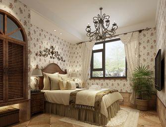 110平米田园风格卧室装修案例