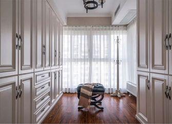 120平米三室两厅美式风格衣帽间装修效果图