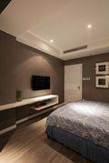 90平米混搭风格卧室效果图
