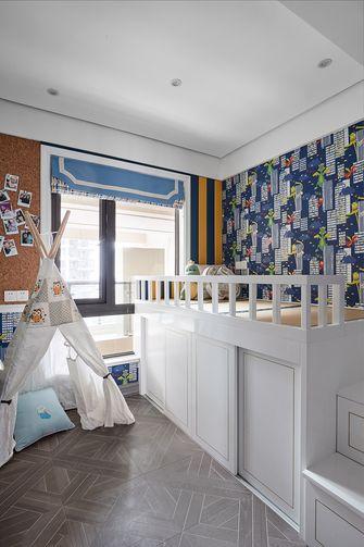 140平米三室五厅美式风格儿童房效果图