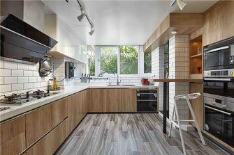 100平米三室一厅混搭风格厨房设计图