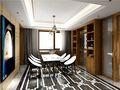 豪华型140平米别墅现代简约风格餐厅图片大全