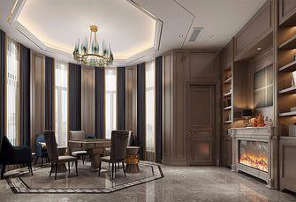 140平米四室两厅混搭风格影音室图