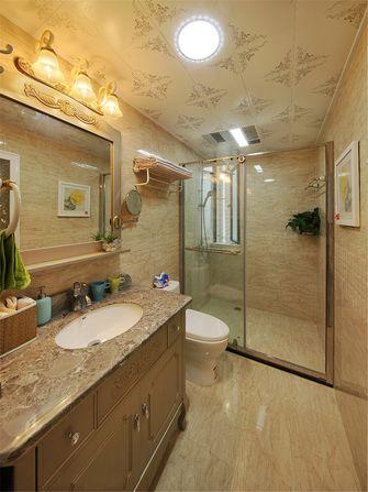 140平米三室四厅现代简约风格卫生间效果图