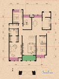 四房美式风格装修案例