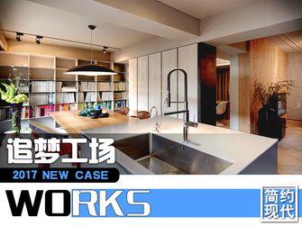 100平米公寓东南亚风格客厅设计图