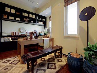 140平米四室两厅东南亚风格书房图片大全