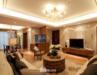 140平米四室两厅东南亚风格客厅图