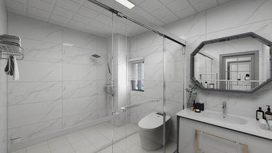 120平米复式现代简约风格卫生间装修效果图