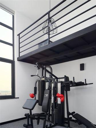 140平米四室三厅北欧风格健身室设计图
