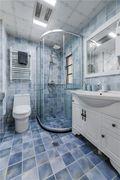 50平米小户型欧式风格卫生间设计图