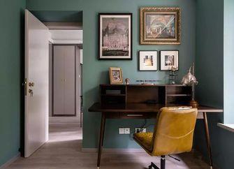 110平米三室两厅混搭风格书房装修效果图