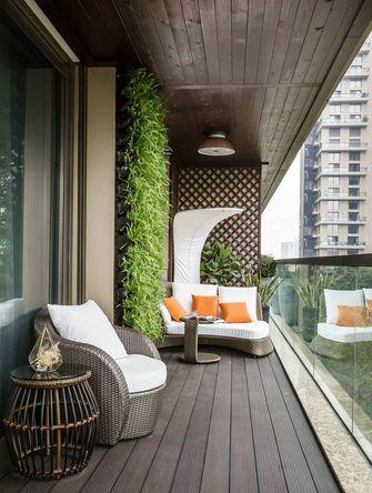 120平米四室两厅新古典风格阳台设计图