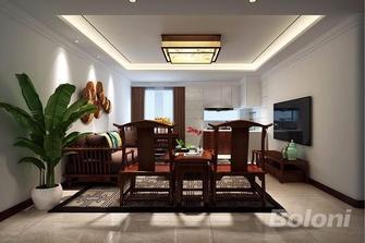 50平米一室一厅中式风格餐厅效果图