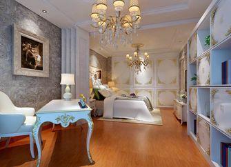80平米一室一厅法式风格卧室效果图