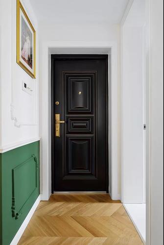 30平米小户型法式风格玄关图片