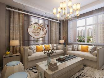 80平米一室两厅中式风格客厅设计图