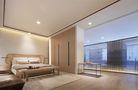 140平米公寓中式风格卧室效果图