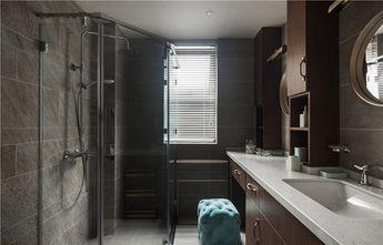 130平米三室一厅现代简约风格卫生间设计图