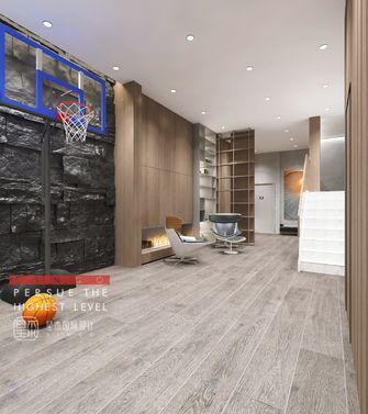 140平米别墅北欧风格健身室设计图