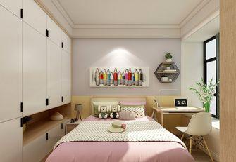 120平米三室两厅田园风格儿童房图