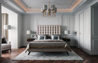 140平米别墅田园风格卧室装修效果图