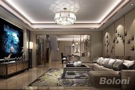 140平米別墅中式風格客廳裝修圖片大全