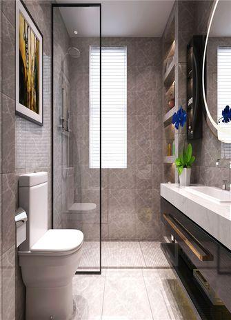 140平米四室两厅美式风格卫生间欣赏图