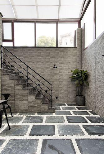 90平米三室一厅现代简约风格楼梯间装修案例